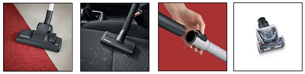 Severin Germany Vacuum Cleaner Attachments